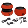 Active Mini Speaker - SOUNDBALL RED