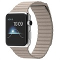 Apple Watch - 42mm - Kivenharmaa Nahkaranneke