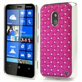 Nokia Lumia 620 Bling Diamond Case - Hot Pink
