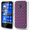 Nokia Lumia 620 Bling Diamond Case - Purple