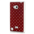 Nokia Lumia 720 Bling Diamond Case - Red