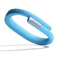 Jawbone UP Ranneke - iPhone 5S, iPhone SE, HTC One Max, Xperia Z1 Compact - L - Sininen