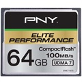 PNY Elite Performance Compact Flash Muistikortti - 64Gt